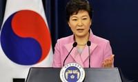 Südkoreas Präsidentin bekräftigt die Fortführung der Gespräche mit Nordkorea