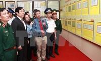 Landkarte und Dokumente über Hoheitsgewässer werden an den Generalstab der Militärzone 3 überreicht