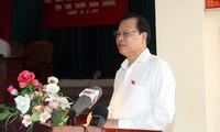 Vize-Premierminister Vu Van Ninh trifft die Wähler im Kreis Nam Truc in der Provinz Nam Dinh