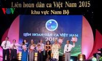 Abschluss des Festivals der vietnamesischen Volkslieder