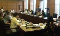 Das Parlament diskutiert das Programm zum Aufbau der Gesetze und Verordnungen 2016