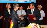 Ein Bekenntnis zwischen Vietnam und Deutschland zur Ausbildung in der Altenpflege unterzeichnet