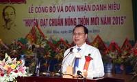 Kreis Hai Hau erfüllt alle Kriterien der Neugestaltung der ländlichen Räumen