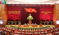 12. Sitzung des KP-Zentralkomitees eröffnet
