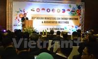 Konferenz der ASEAN-Energieminister in Malaysia
