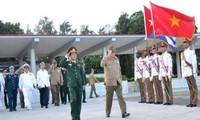 Die Kooperation zwischen Armeen Vietnams und Kubas verstärken