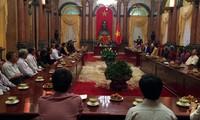 Vize-Staatspräsidentin Dang Thi Ngoc Thinh empfängt die Delegierten aus Quang Nam