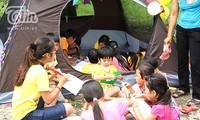 Kindern mit HIV bei Integration in die Gemeinschaft helfen