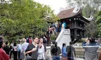 Hanoi empfängt mehr als zwei Millionen ausländische Touristen im ersten Halbjahr