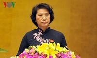 Das Parlament der 14. Legislaturperiode hat vier Vize-Präsidenten