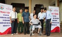 Verband der Agent-Orange-Opfer der Provinzen begleiten Opfer