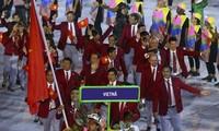 Eröffnung der olympischen Sommerspiele in Rio de Janeiro