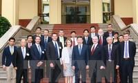Der Polizeiminister To Lam empfängt Unternehmensdelegation von US-ASEAN-Business Council
