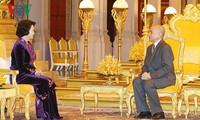 Die Aktivitäten der Parlamentspräsidentin Nguyen Thi Kim Ngan in Kambodscha