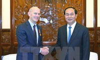 Staatspräsident Tran Dai Quang verleiht Freundschaftsorden an World Vision International
