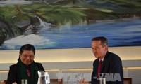 Vizeparlamentspräsidentin Tong Thi Phong zu Gast in Dänemark