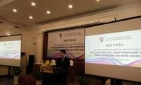 Erhöhung der Wettbewerbsfähigkeit beim Export in ASEAN-Länder