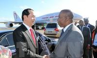 Staatspräsident Tran Dai Quang wird an der Frankophonie-Konferenz in Madagaskar teilnehmen
