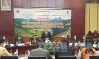 Die Verbindung zwischen Eisenbahn-System und Tourismus-Jahr 2017 in Lao Cai