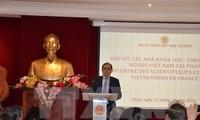 Treffen von vietnamesischen Wissenschaftlern und Experten in Frankreich