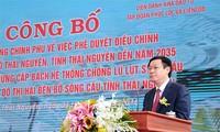 Vize-Premierminister Vuong Dinh Hue startet zwei wichtige Projekte in der Provinz Thai Nguyen