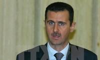 Präsident Baschar al-Assad zeigt sich optimistisch für Friedensprozess in Syrien