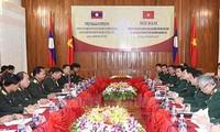 Unterzeichnung der Kooperation in Verteidigung zwischen Vietnam und Laos