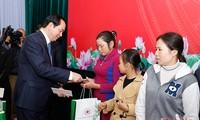 Staatspräsident Tran Dai Quang besucht die Provinz Nghe An