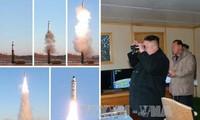 Nordkorea veröffentlicht Video über Raketentest