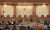 Affäre in Südkorea: Abschluss der letzten Anhörung im Amtsenthebungsverfahren der Präsidentin