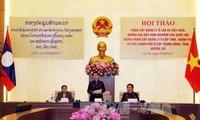 Vietnam und Laos werden die Erfahrungen in der administrativen Verwaltung teilen