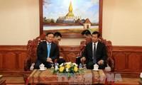 Laos legt großen Wert auf die Beziehungen zu der Partei und dem Volk Vietnams