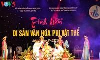 Eröffnung des Festivals der immateriellen Kulturschätze in Quang Nam