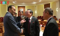 Vize-Parlamentspräsident Phung Quoc Hien stattet Marokko einen Besuch ab
