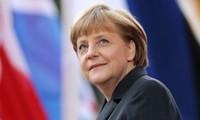 CDU/CSU der Bundeskanzlerin Angela Merkel hat bei der Bundestagwahl gewonnen