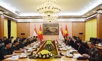 Konsultation über die Verteidigungspolitik zwischen Vietnam und Singapur