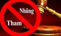 Das Programm zum Antikorruptionskampf der vietnamesischen Regierung