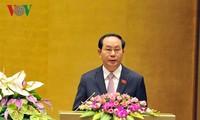 Staatspräsident Tran Dai Quang: Entfaltung des Patriotismus und der Selbstständigkeit