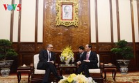 Staatspräsident Tran Dai Quang empfängt die neuen Botschafter