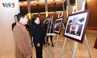 Parlamentspräsidentin Nguyen Thi Kim Ngan überprüft die Probe der Konferenz APPF-26