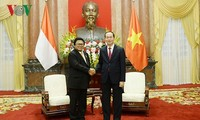Tran Dai Quang empfängt den Vorsitzenden des kommunalen Abgeordnetenrates aus Indonesien