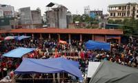 Hang-Markttag in Hai Phong in den letzten Tagen des Jahres nach dem Mondkalender