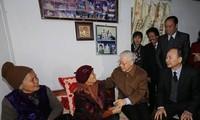 KPV-Generalsekretär Nguyen Phu Trong besucht die Provinz Thai Binh