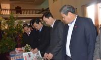 Die Provinzen feiern das Zeitungsfest im Frühling 2018