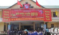 Eröffnung des Zeitungsfestes im Frühling in mehreren Provinzen