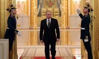 Präsident Wladimir Putin hat großen Vorsprung bei Umfrage vor den Wahlen