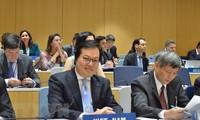 Internationales Gespräch über die Informationstechnologie bei der Förderung von Rechten
