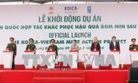 Vietnam und Südkorea kooperieren bei dem Aufräumen der Blindgänger