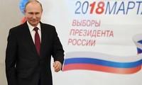 Wladimir Putin wird wieder zum russischen Präsidenten gewählt