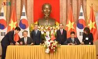 Vietnam und Südkorea wollen das Handelsvolumen auf 100 Milliarden US-Dollar im Jahr 2020 erhöhen